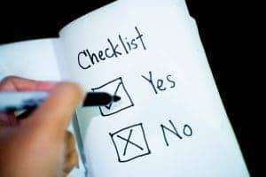 Checklist | Relentless Man
